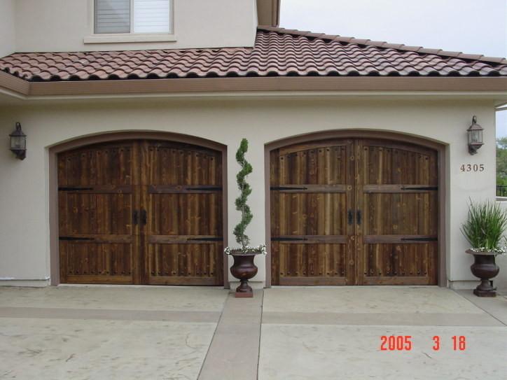 Wood Carriage Doors